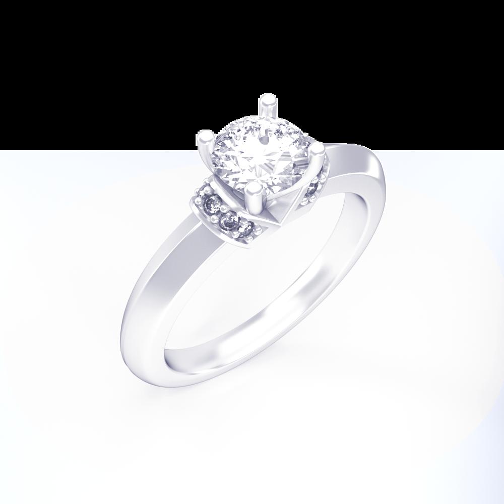 365c020714c4 Кольцо на помолвку Sky - Glaze Jewelry