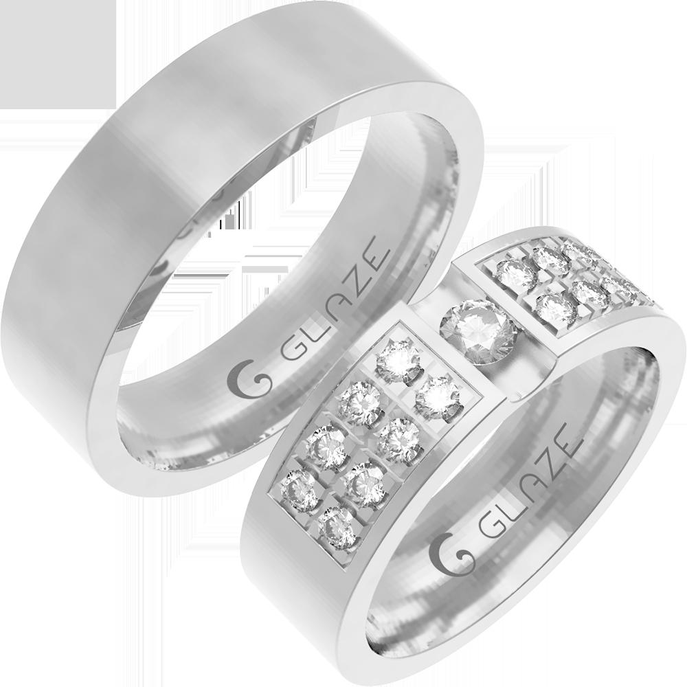028ef249b1a4 Обручальное Кольцо O00028 - Glaze Jewelry